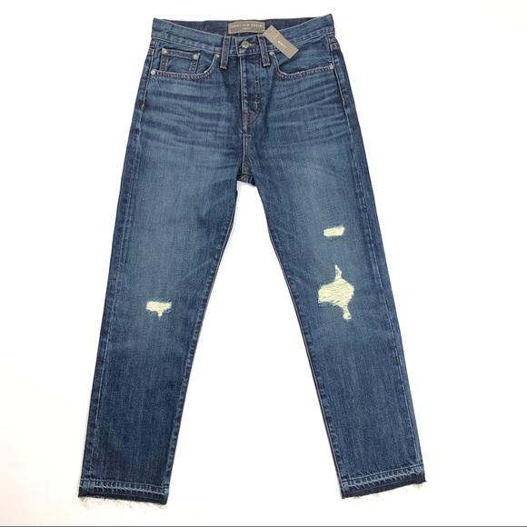J. Crew Denim - J Crew size 26 Point Sur High Rise Denim Jeans NWT